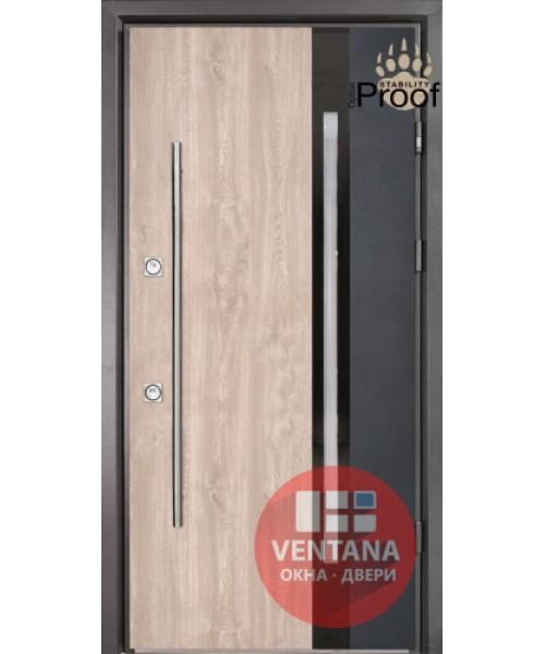 Дверь входная бронированная Страж коллекция Stability Proof Slim P