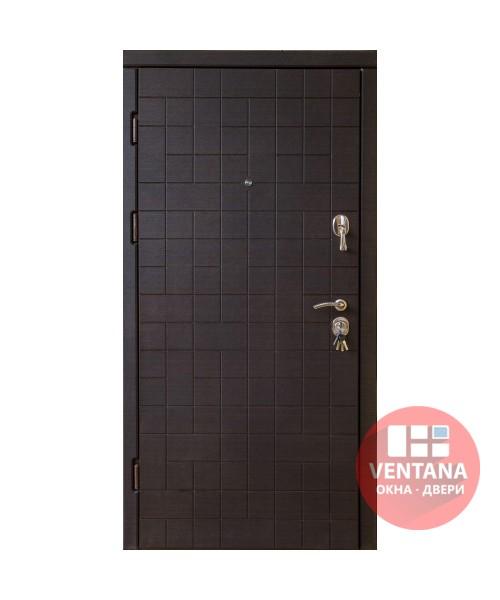 Дверь входная бронированная VERY DVERI Каскад темно/светлый (серия «ВИП»)