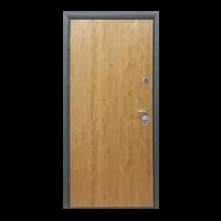 Дверь входная бронированная VERY DVERI Сруб коричневый (серия «Коттедж»)