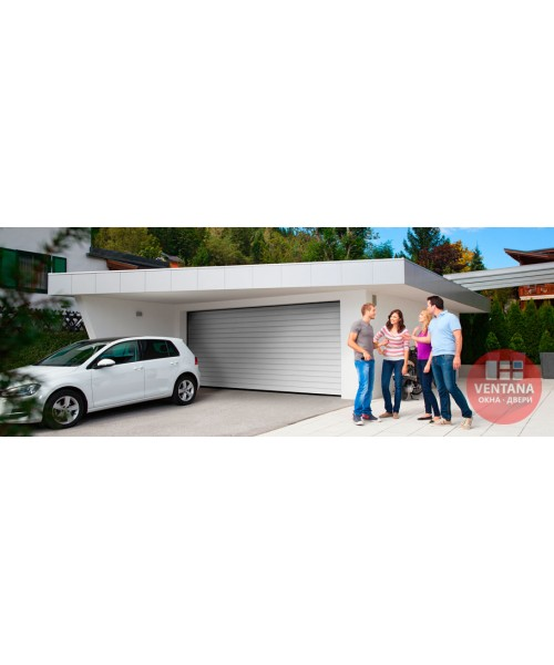 Гаражные ворота Alutech Подъемные гаражные ворота серии Trend