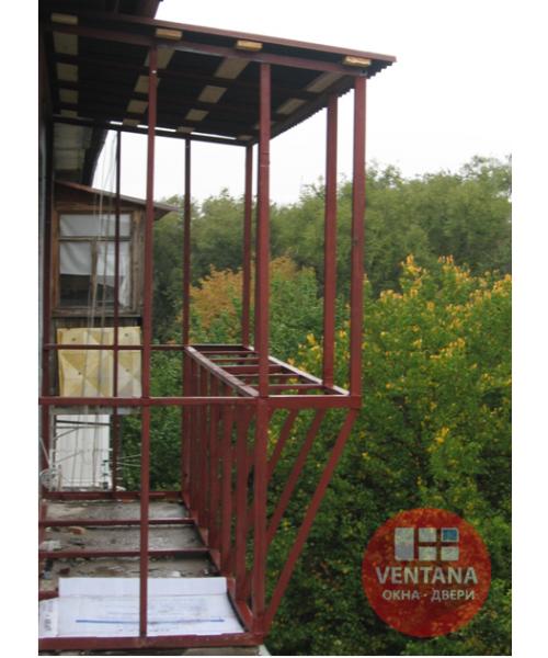 Балкон Сварка Балкона с выносом