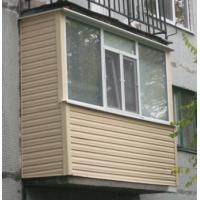 Балкон Отделка балкона сайдингом